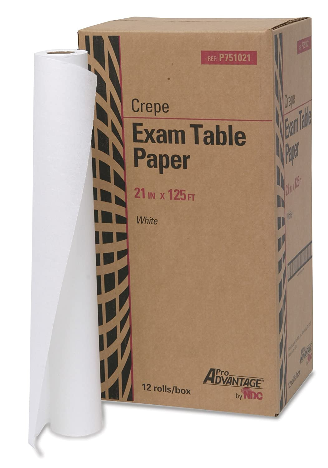 Bargain IMCO P751021 Pro outlet Advantage Exam Table Paper Creped Pack 12 of
