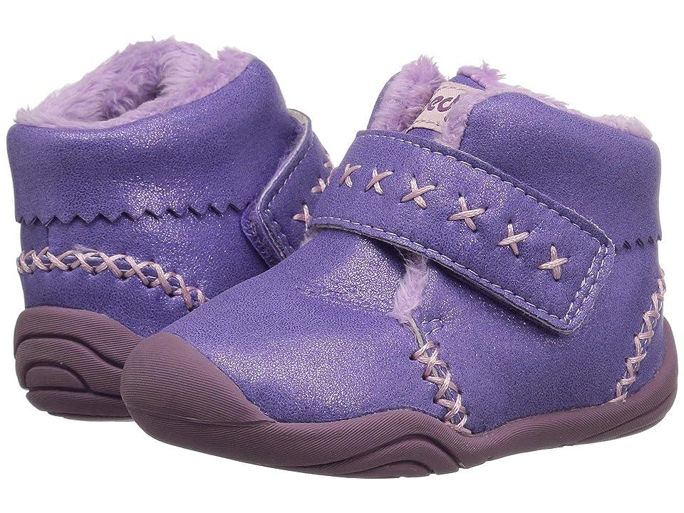 pediped Rosa Grip n Go (Toddler) (Lavender Shimmer) Girl