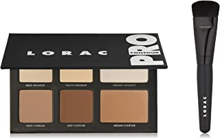 LORAC Pro Contour Palette Plus Contour Brush, Multi