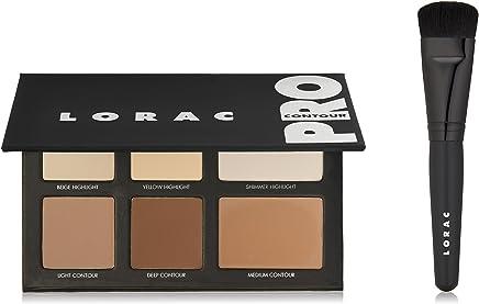 LORAC Pro Contour Palette Plus Contour Brush, Multi