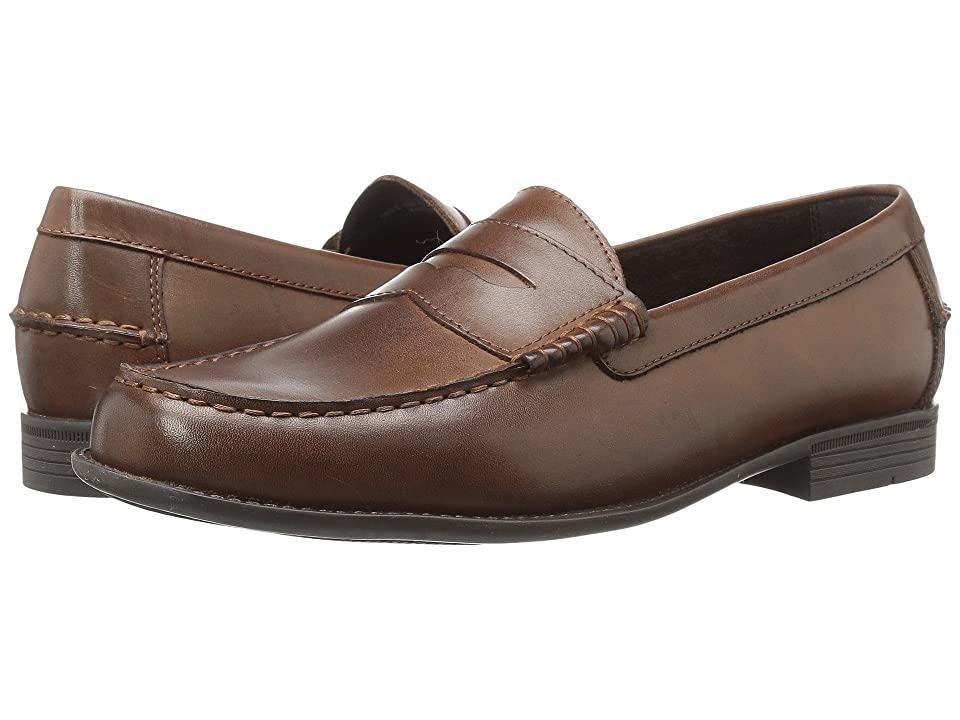 Cole Haan Dustin Penny II (Dark Brown) Men