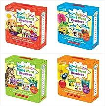 Nonfiction Sight Word Readers Parent Packs Complete Set (4 packs)- Level A, Level B, Level C, Level D