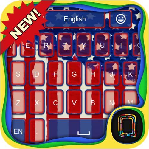 USA keyboard theme