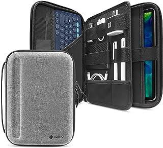 tomtoc Portfolio Case for 10.9 iPad Air 4/11 iPad Pro/iPad 10.2/10.5 iPad Air, Protective Sleeve for iPad Pro 11, Hardshel...