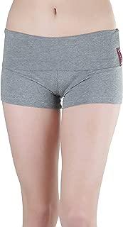 ToBeInStyle 女士宽腰带翻边瑜伽短裤