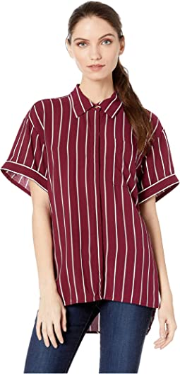 Bordeaux/Cindy Stripe