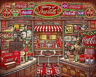 Springbok's 1000 Piece Jigsaw Puzzle Coca Cola History