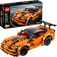 Lego Technic Chevrolet Corvette ZR1 Replica Construction Set, Multi-Colour, 42093