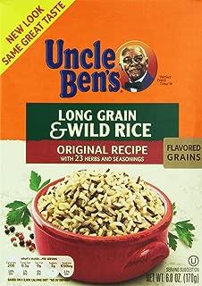 Uncle Ben's, Original Recipe, Long Grain & Wild Rice, 6oz Box (Pack of 5)
