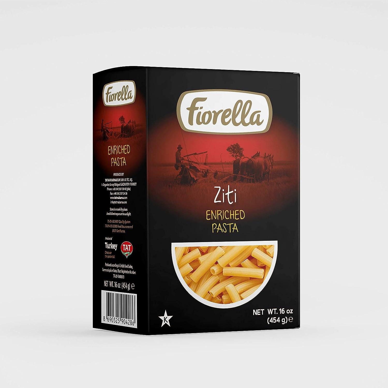 Ottomanson Fiorella Ziti Enriched Pasta, 16 oz, 1 Pack
