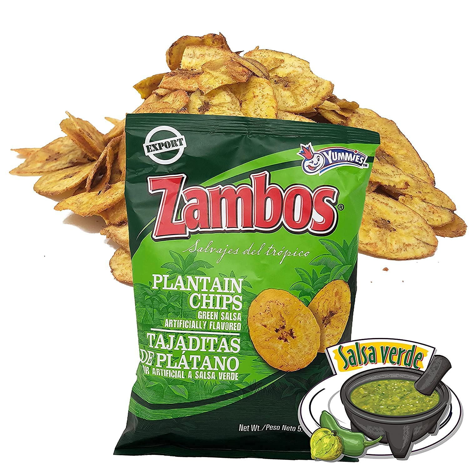 Zambos Plantain Chips Fashion – Green Delicious with Ranking TOP8 Sals