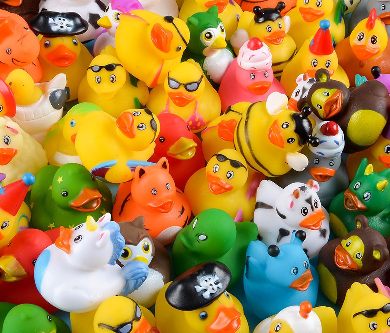 Rhode Island Novelty Assorted Rubber of Ducks 100 Set 67% OFF Luxury goods fixed price
