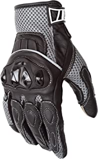 Motorcycle Biker Gloves Black Premium Summer Mesh | Touchscreen | Padded All Weather Feature for Men and Women | Breathable Moisture Wick Air Flow Technology | VENTURE (XL)