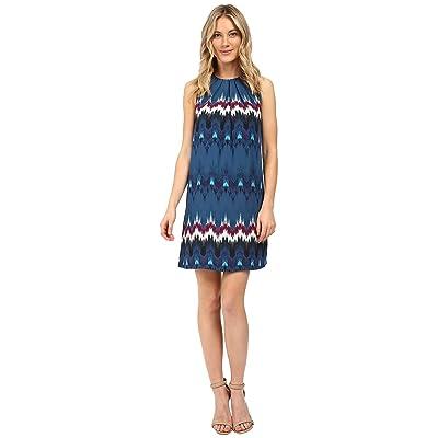 kensie Tribecca Dress KS0K7247 (Deep Ocean Combo) Women