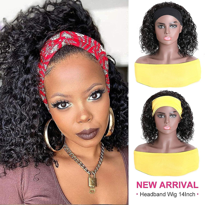 price UNICE Water Nashville-Davidson Mall Wave Headband Bob Wig 100% Human Virgin Ha Brazilian