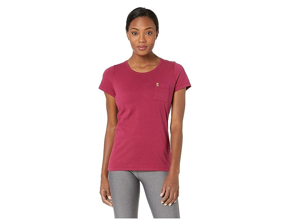 Fjallraven Ovik T-Shirt (Plum) Women