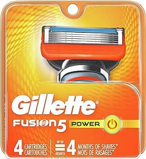 Gillette Fusion5 Men's Razor Blade Refills, 4 Count
