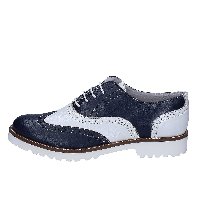 [OLGA RUBINI] 古典的な女性の靴 レディース レザー ブルー