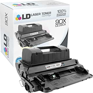 LD Compatible Toner Cartridge Replacement for HP 90X CE390X High Yield (Black)