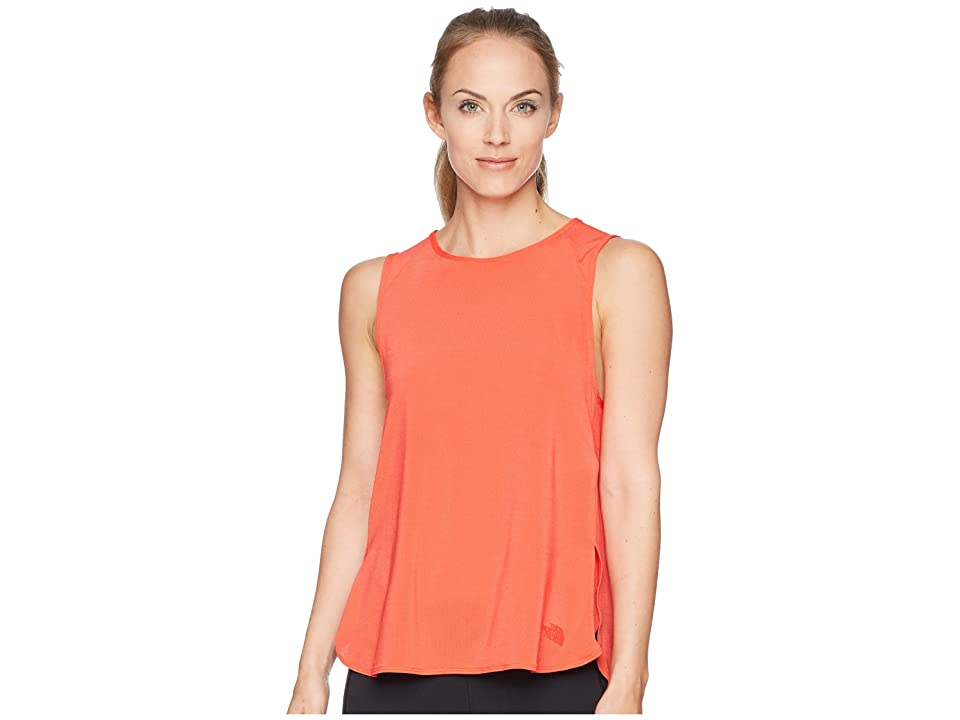 The North Face Vision Muscle Tank Top (Juicy Red) Women