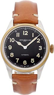 Montblanc 1858 Mechanical (Automatic) Black Dial Mens Watch 117833 (Certified Pre-Owned)