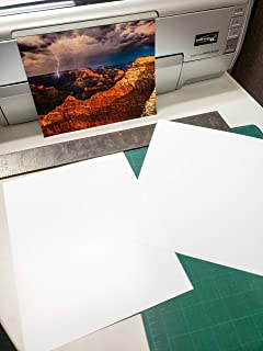 """5"""" X 7"""" Smooth Fine Art Archive Bright White Double Sided Inkjet - 50 Sheets photo"""