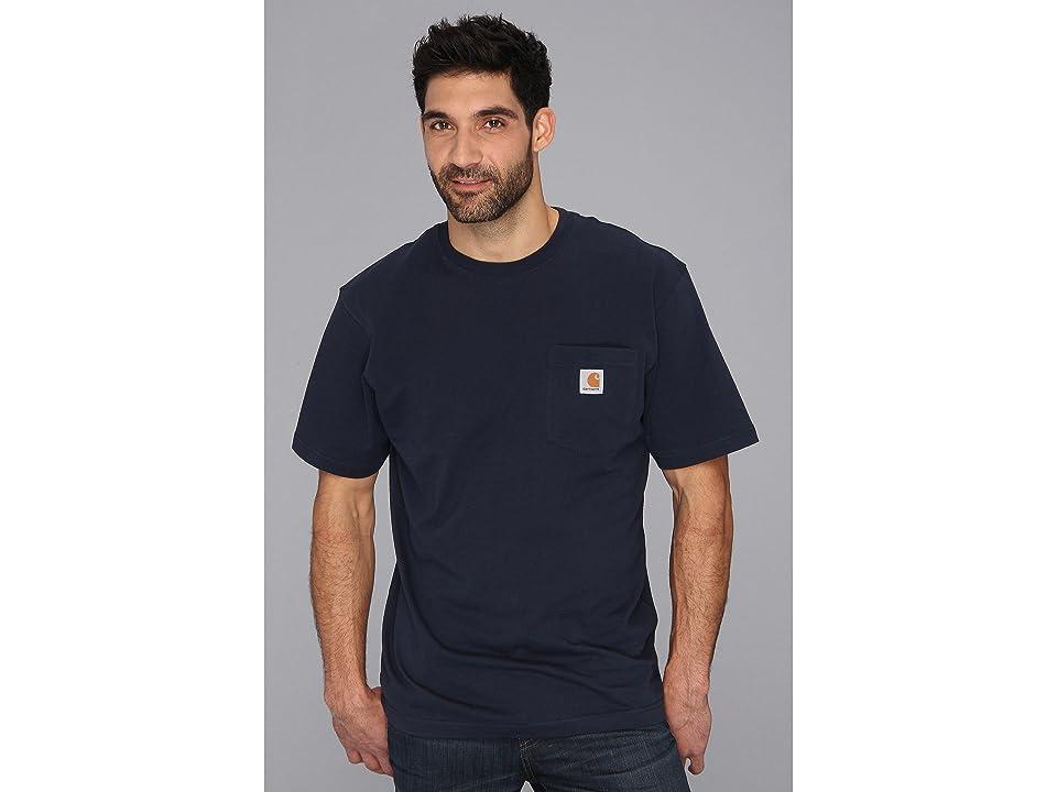 Carhartt Workwear Pocket S/S Tee K87 (Navy) Men's T Shirt