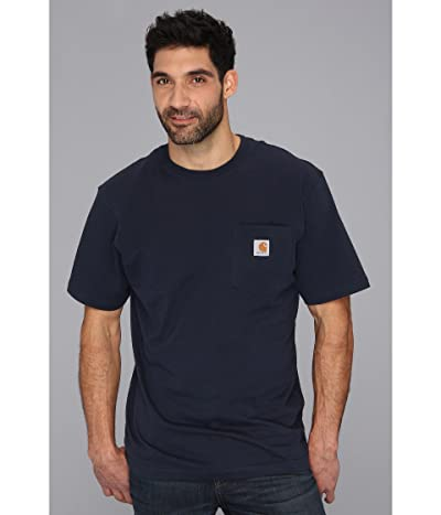 Carhartt Workwear Pocket S/S Tee K87 (Navy) Men