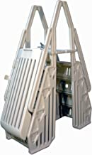 Blue Wave NE115 Neptune A-Frame Entry System for Above Ground Pools, White