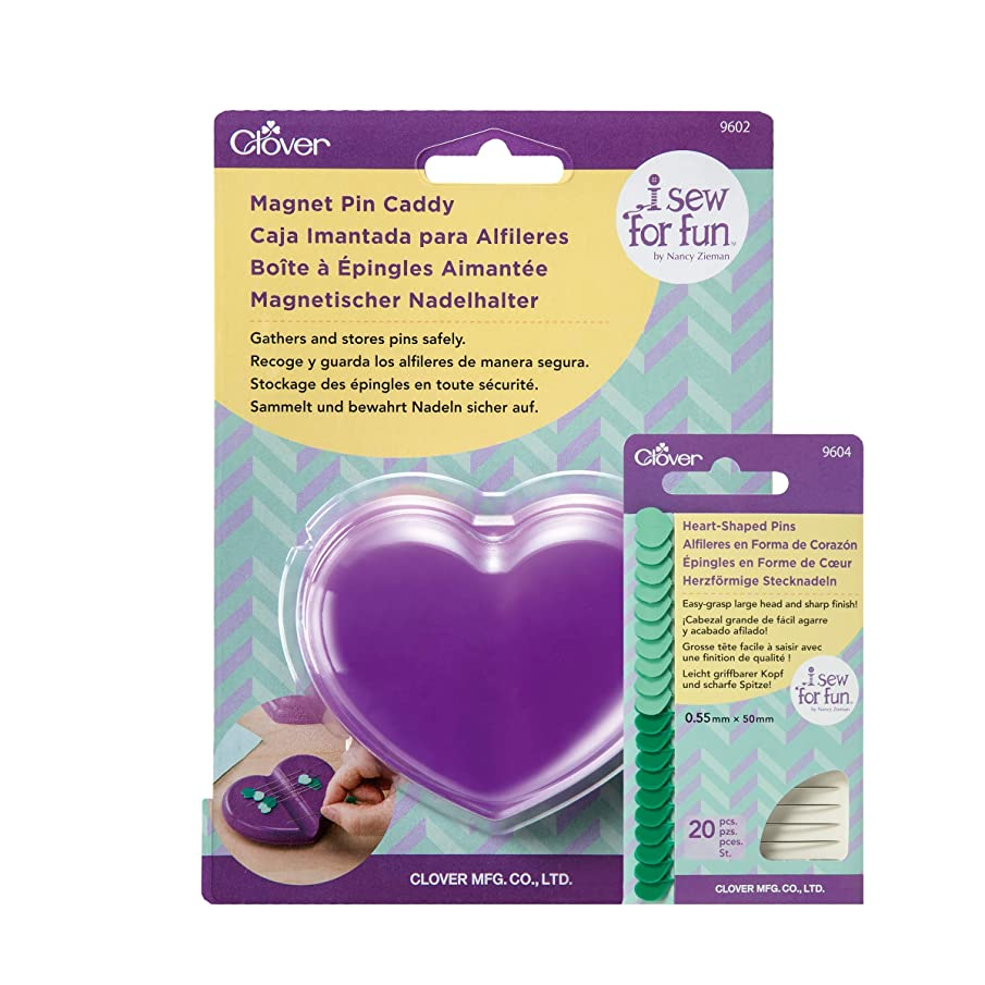 Clover E014 I Sew for Fun Magnet Bundle Pin Caddy, 6, Multiple #6