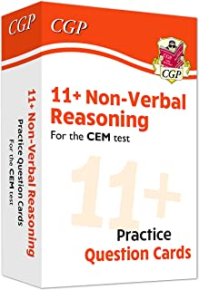 New 11+ CEM Non-Verbal Reasoning Practice Question Cards - Ages 10-11 (CGP 11+ CEM)