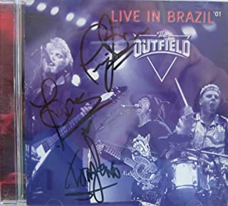 Live in Brazil the Outfield : Tracks- Tiny Lights; 61 Seconds; Certain Kind of Love; Closer to Me; Say It Isn't So; All the Love Mystery Man For You; (2001 Music CD)