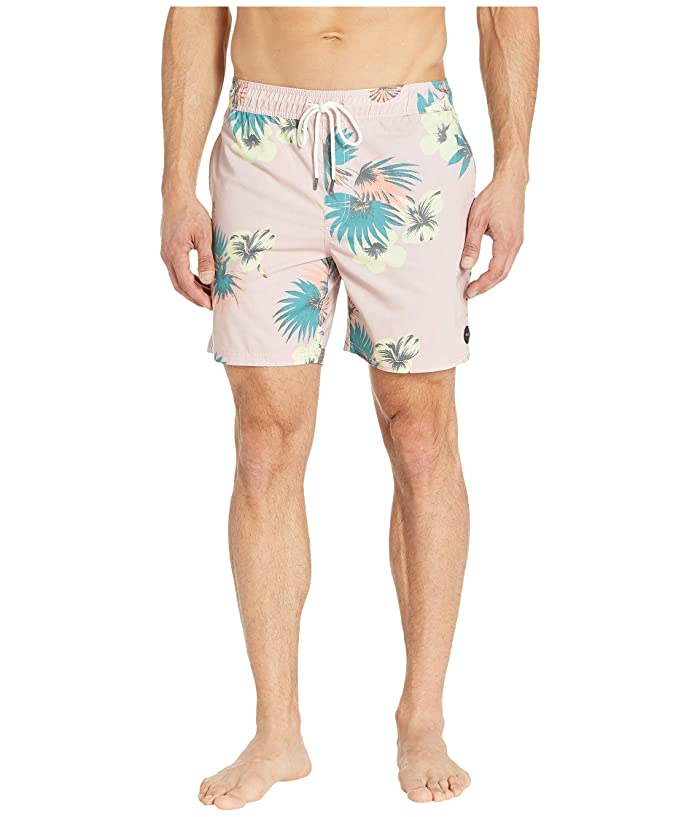 RVCA Eclectic Elastic Shorts (Dusty Blush) Men