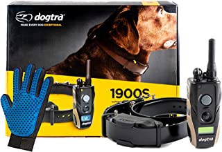 Dogtra 1900S Dog Training Collar with Remote -3/4 Mile Range Dog Locator - Includes Extreme Consumer Products Soft Silicon...