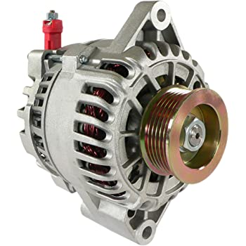 DB Electrical AFD0075 Alternator Compatible With/Replacement For Ford Mustang 2001-2004 3.8L also 3.9L for 2004 Model / 1R3U-10300-AA, 1R3U-10300-AB, 1R3U-10300-AC, 1R3U-10300-AD, 1R3Z-10346-A