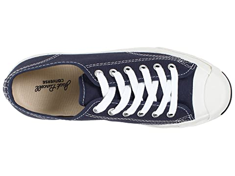 White Converse Canvas WhiteWhite Black Blue Low WhiteNavy Top Jack Purcell CP CCHwrxvUq