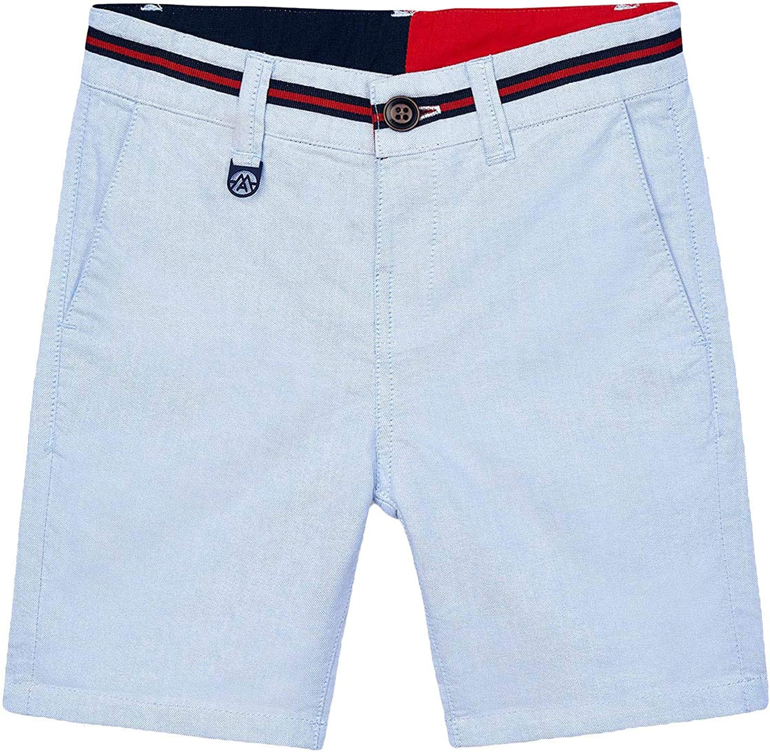 Mayoral - New Shipping Free Oxford Max 66% OFF Shorts Lightblue Boys for 3235
