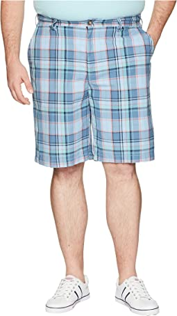 Big & Tall Roadmap Plaid Shorts