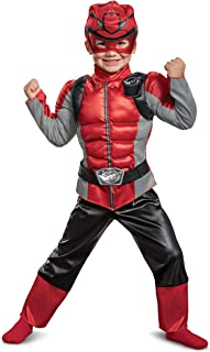Disguise Red Ranger Beast Morpher Toddler Boys' Muscle Costume