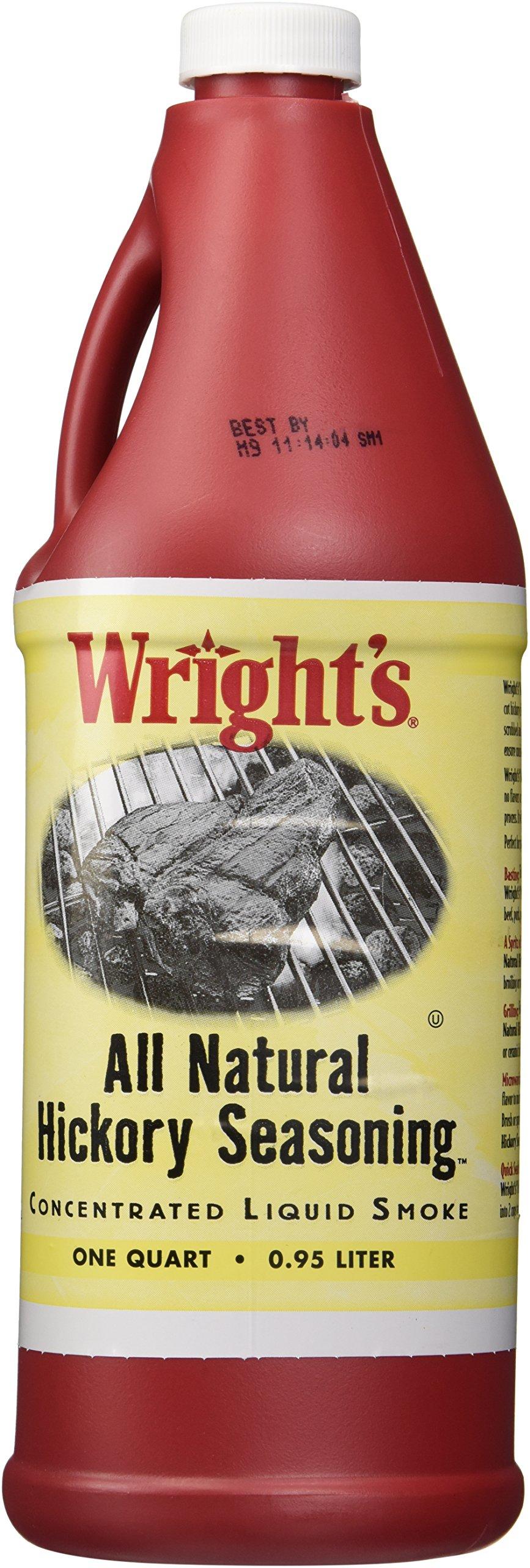 Wrights Natural Hickory Seasoning Liquid