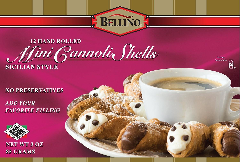 Bellino Mini Cannoli Shells Popular popular Elegant 3 Boxes 12 Count Ounce