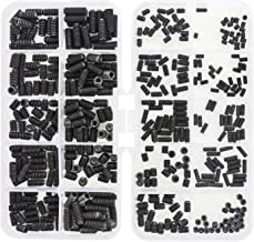 Sutemribor 400 Pcs 20 Sizes, 4#-40 to 10#-32 Set Internal Hex Drive Cup-Point Set Screws Assortment Kit
