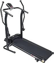 EFITMENT Adjustable Incline Magnetic Manual Treadmill w/Pulse Monitor
