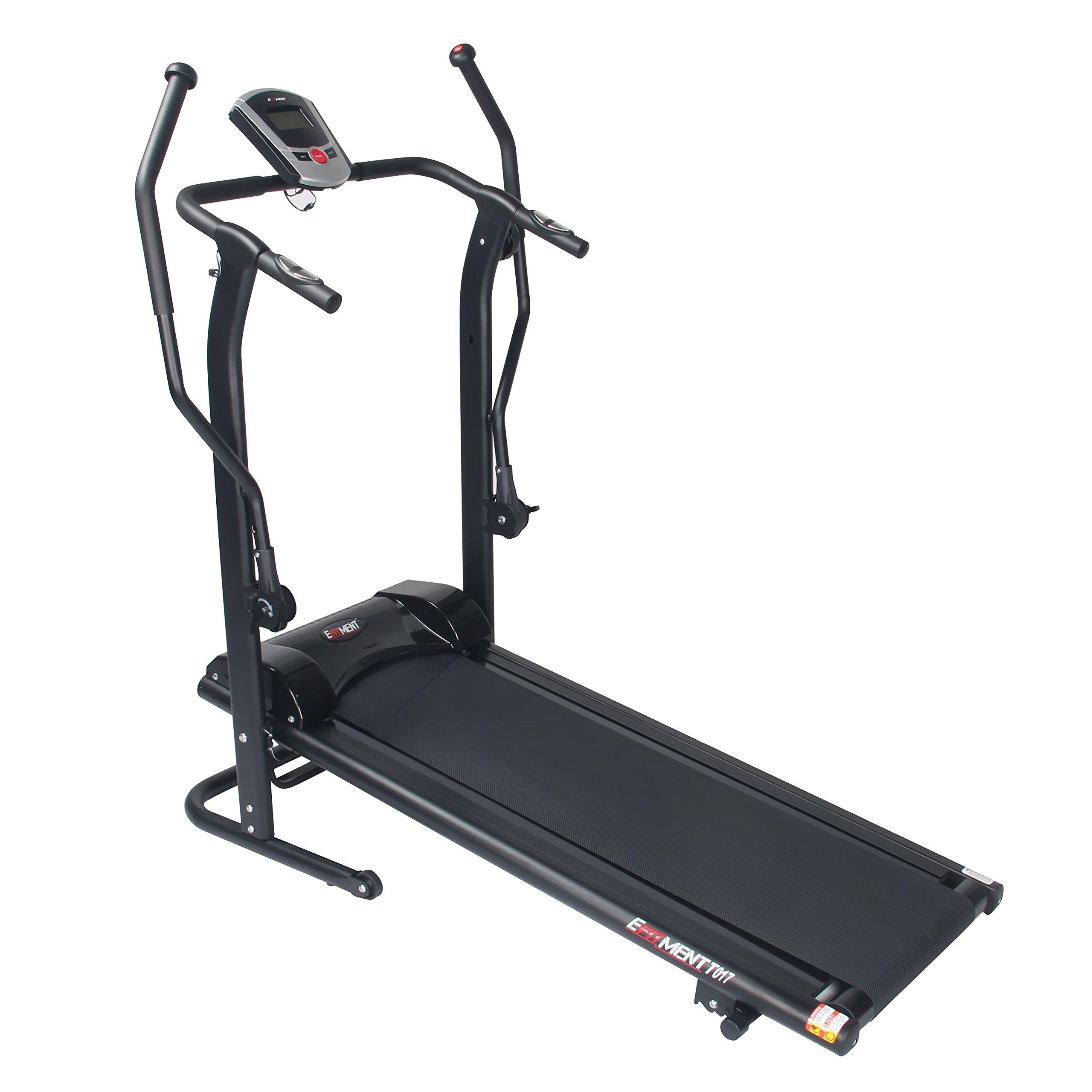 EFITMENT Adjustable Magnetic Treadmill Exercisers