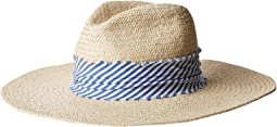 Hat Attack - The Harbor w/ Stripe Fabric Band