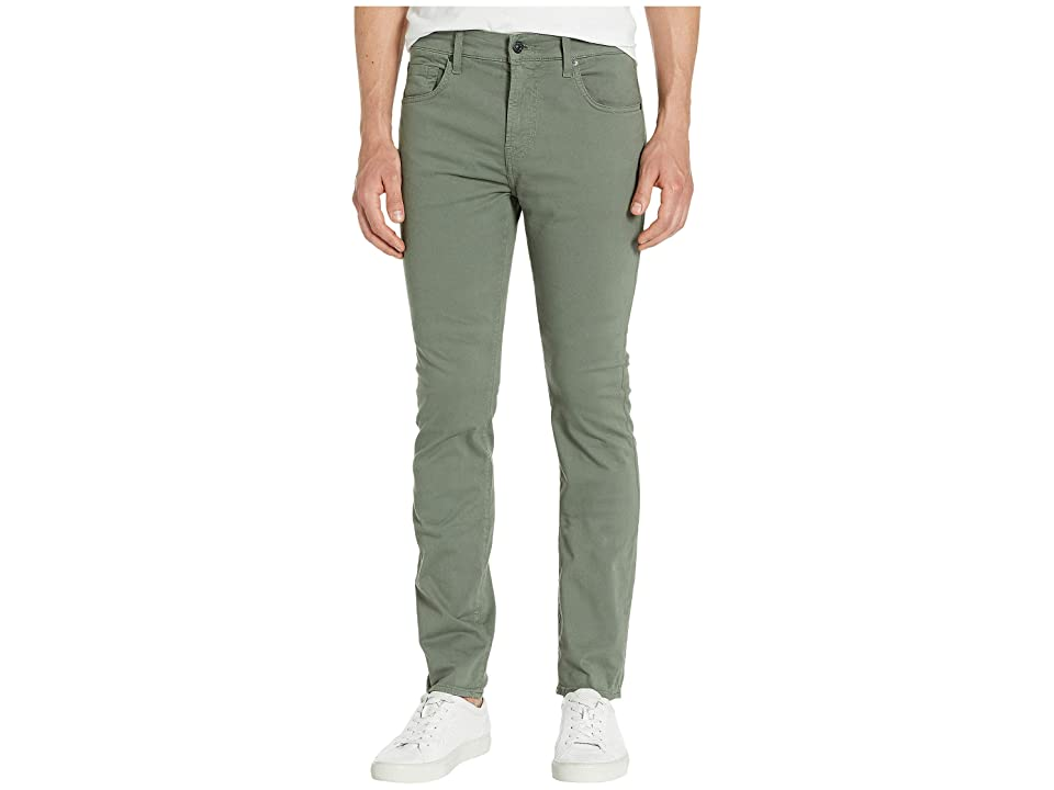 Image of 7 For All Mankind Adrien Easy Slim Total Twill (Faded Spruce) Men's Casual Pants