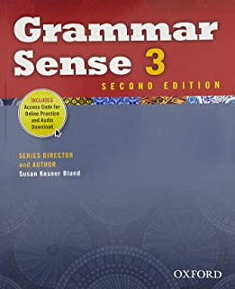 Grammar Sense 3 Student Book with Online Practice Access Code Card
