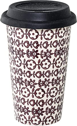 Preisvergleich für Bloomingville To-Go-Kaffeebecher Karine, purpur