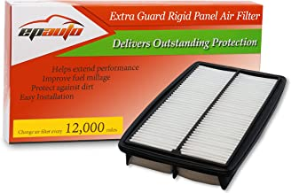 EPAuto GP013 (CA10013) Replacement for Honda/Acura Extra Guard Rigid Panel Engine Air Filter for Odyssey (2005-2010), Pilot (2009-2015), MDX (2007-2009)