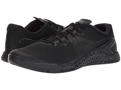 Nike Metcon 4 (Black/Black/Black/Hyper Crimson) Men